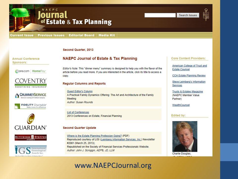 www.NAEPCJournal.org