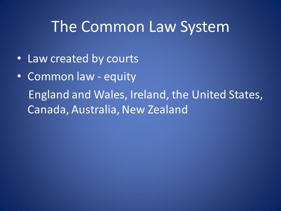Birth of Common Law After the Norman conquest (1066) To consolidate his dominance, the king sought to centralise the justice system by establishing the Royal Courts of Justice at Westminster Powerful vassals resisted the centralisation of justice Royal Courts – able to adjudicate cases falling clearly within the king's competence Progressively, increasing categories of cases transferred to these Courts