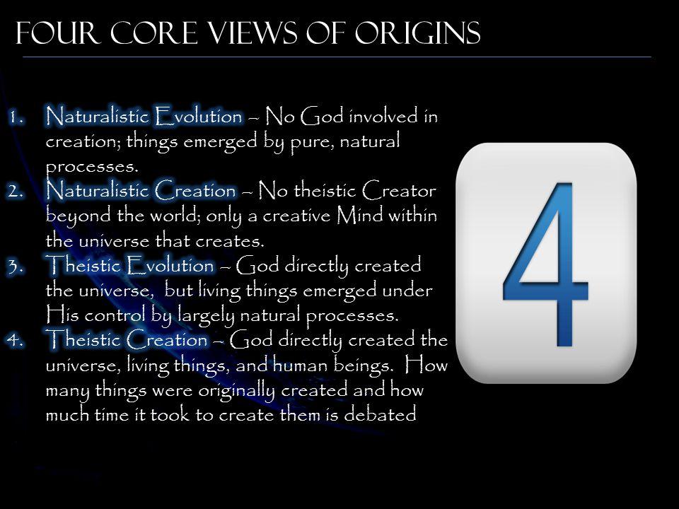 Four Core Views of Origins