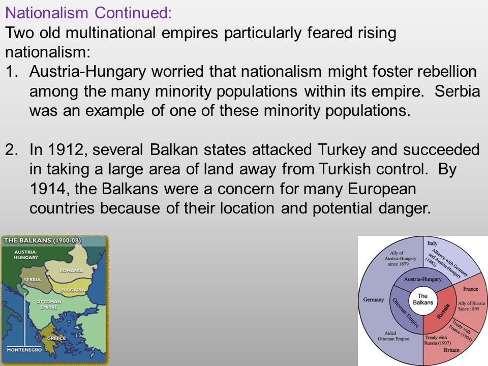 The Powder Keg Ignites World War I began in Eastern Europe.