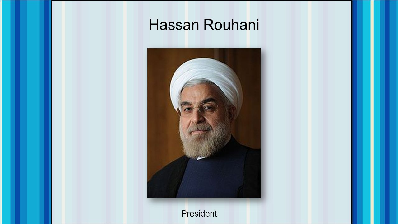 Hassan Rouhani President