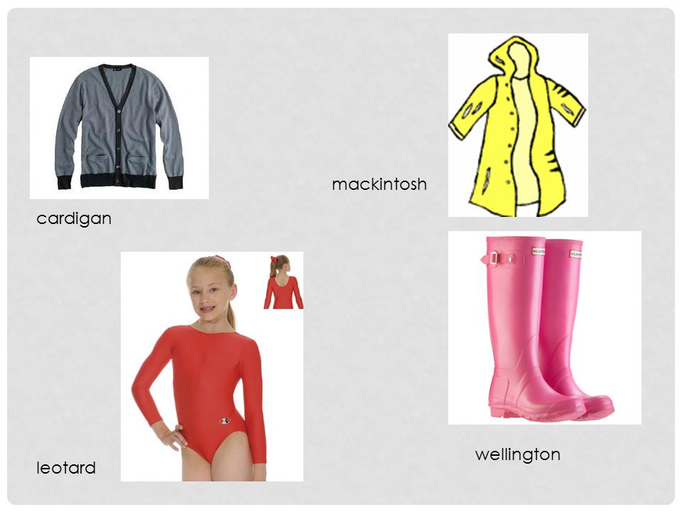 leotard wellington mackintosh cardigan