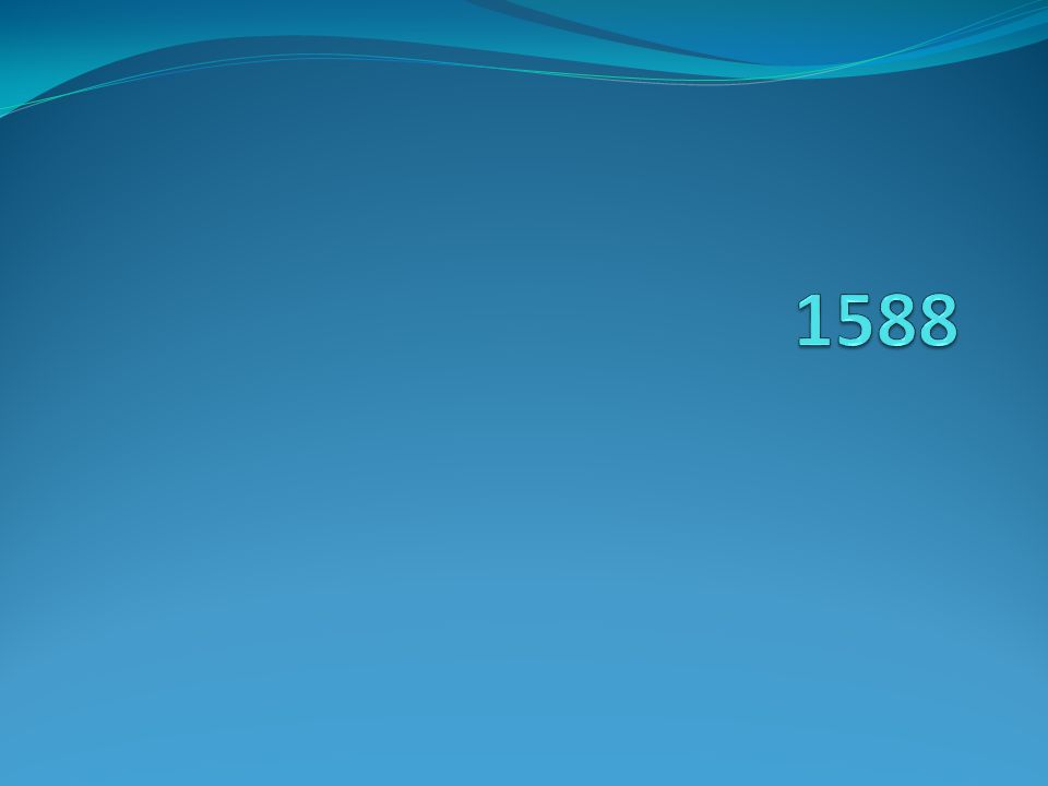 1588 British defeat the Spanish Armada