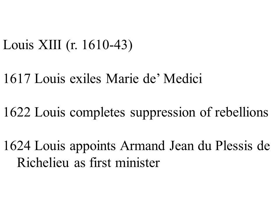 Louis XIII (r.