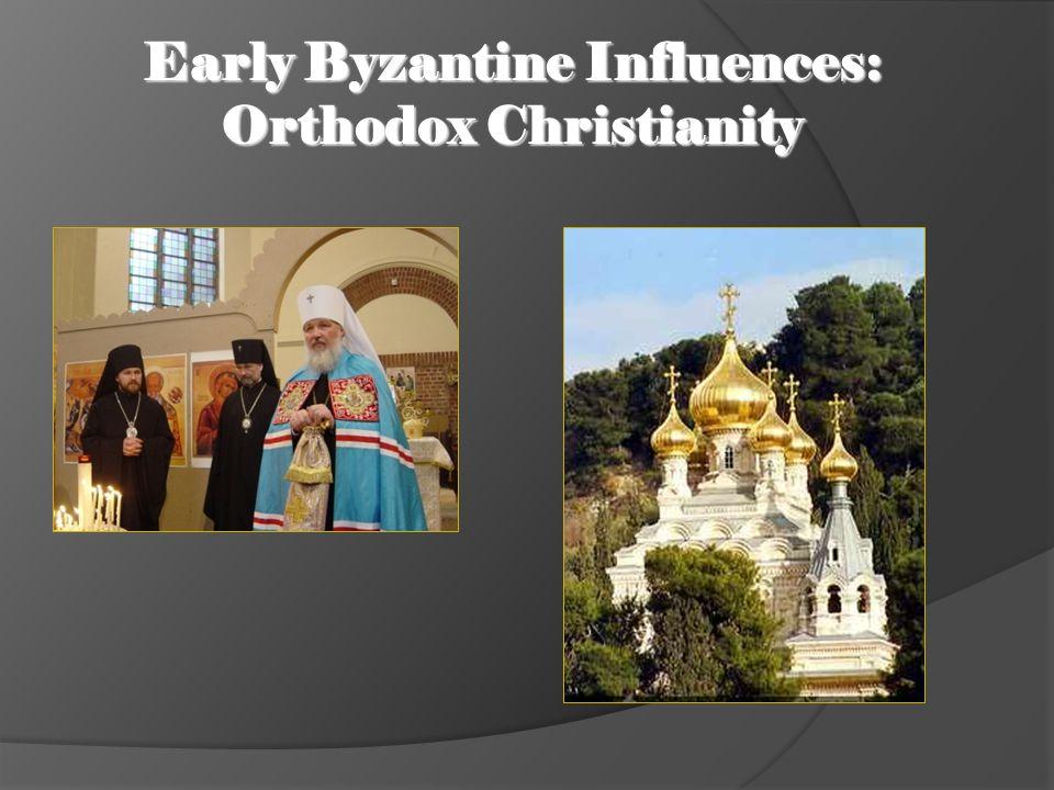 Early Byzantine Influences: Cyrillic Alphabet