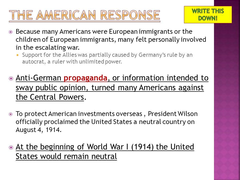  History.com video  http://www.history.com/videos/causes-of-world- war-i http://www.history.com/videos/causes-of-world- war-i