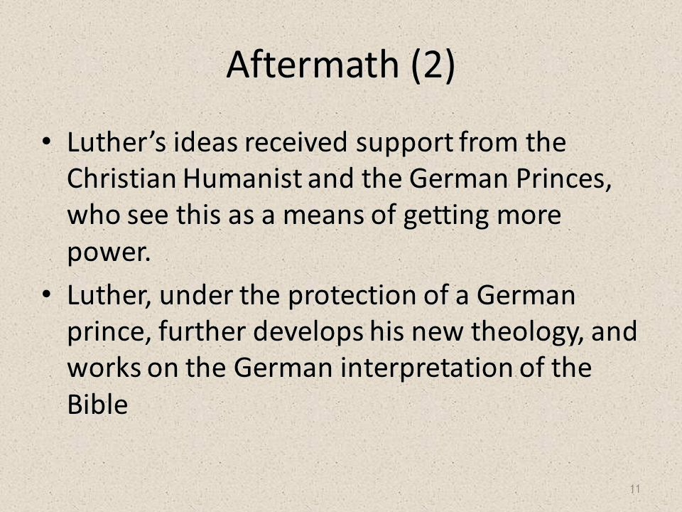 12 Luther's New Theology Catholic 1)Salvation through Faith and Works 2)Theology is based on the Bible and other canonized writings 3)One reaches God through the Priests of the Church, who play a very important role in the church.