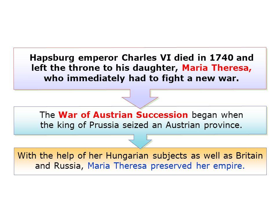 Maria Theresa was a good leader.