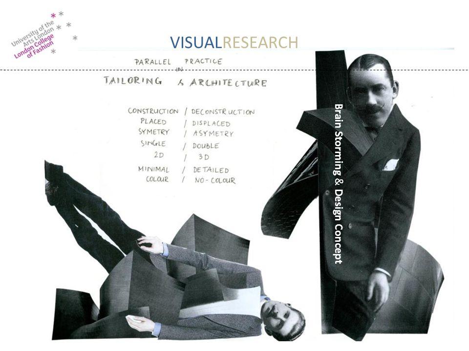 VISUALRESEARCH Brain Storming & Design Concept