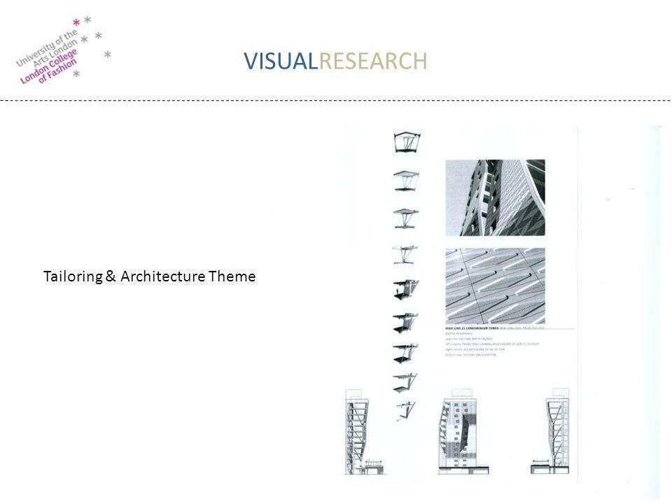 VISUALRESEARCH Tailoring & Architecture Theme