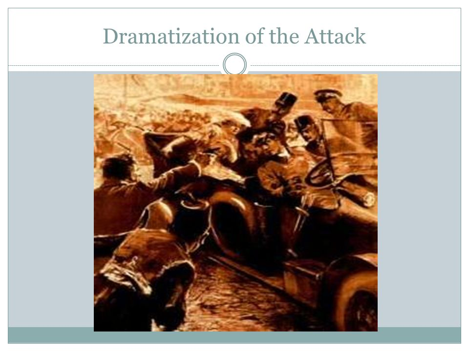 Dramatization of the Attack