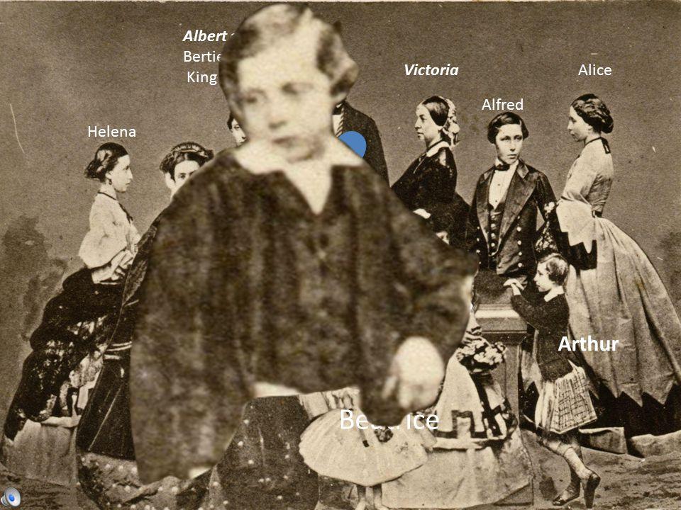Victoria Albert aka Bertie King Edddy VII Alice Alfred Helena Louise Arthur Beatrice Leopold