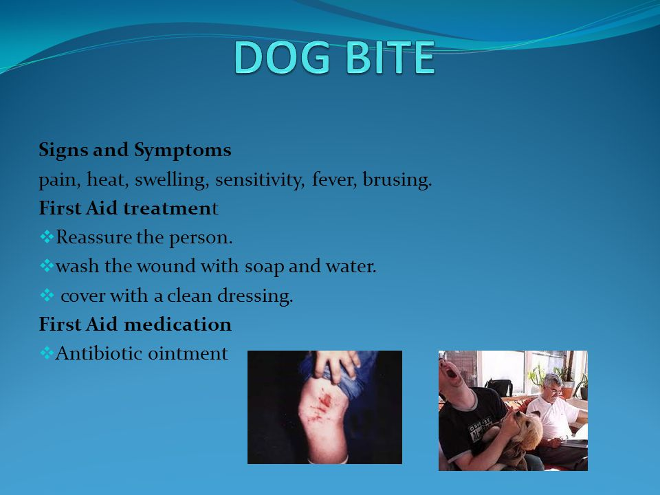 Signs and Symptoms  muscle cramps, fever, sweating, nausea, local pain.