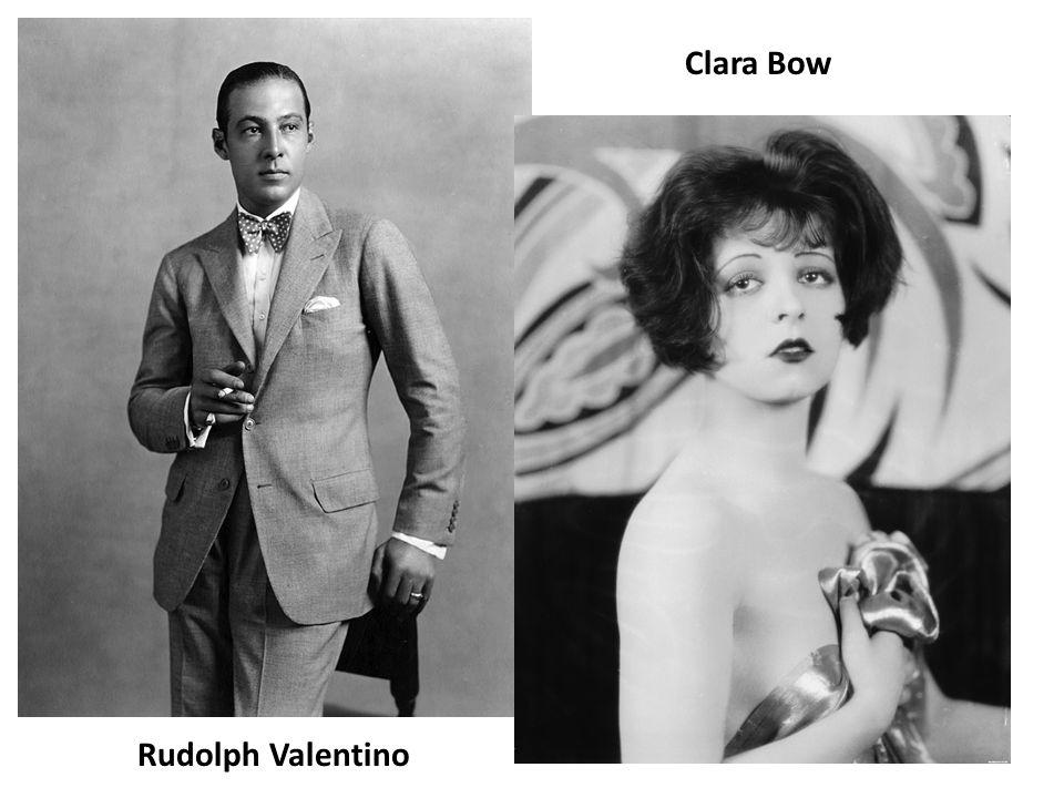 Rudolph Valentino Clara Bow