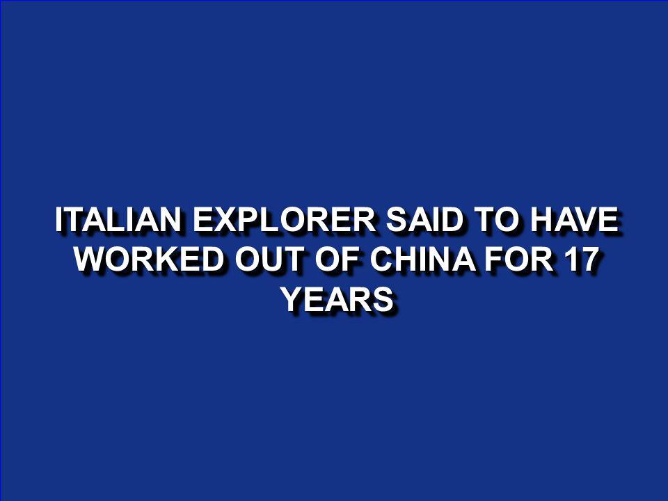 WHO IS KUBLAI KHAN?