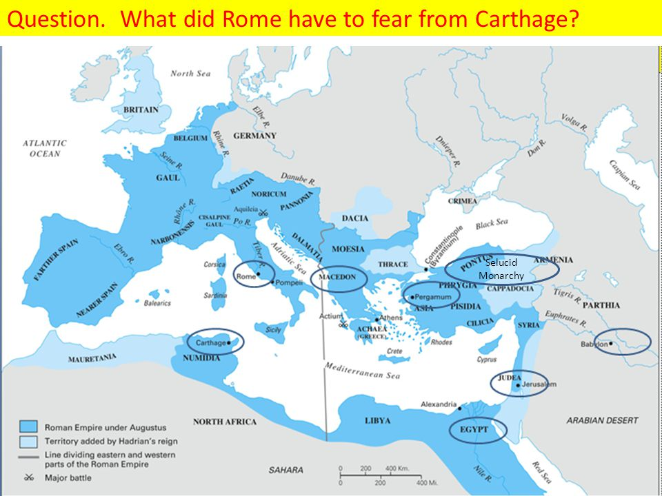Answer.Rome feared that Carthage wanted to conquer the northern Sicilian city of Messana.