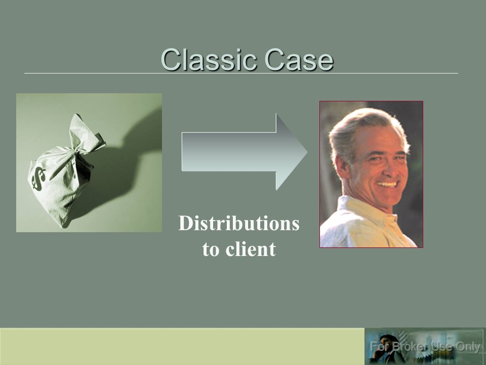 Classic Case Distributions to client