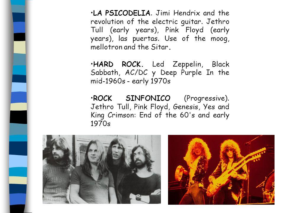 LA PSICODELIA. Jimi Hendrix and the revolution of the electric guitar.