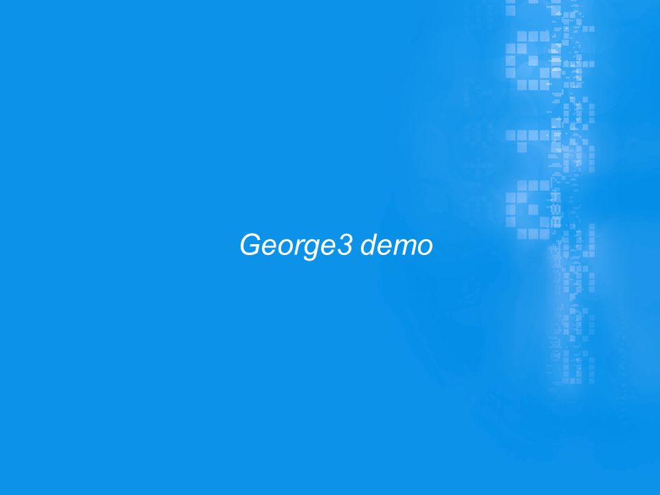 George3 demo