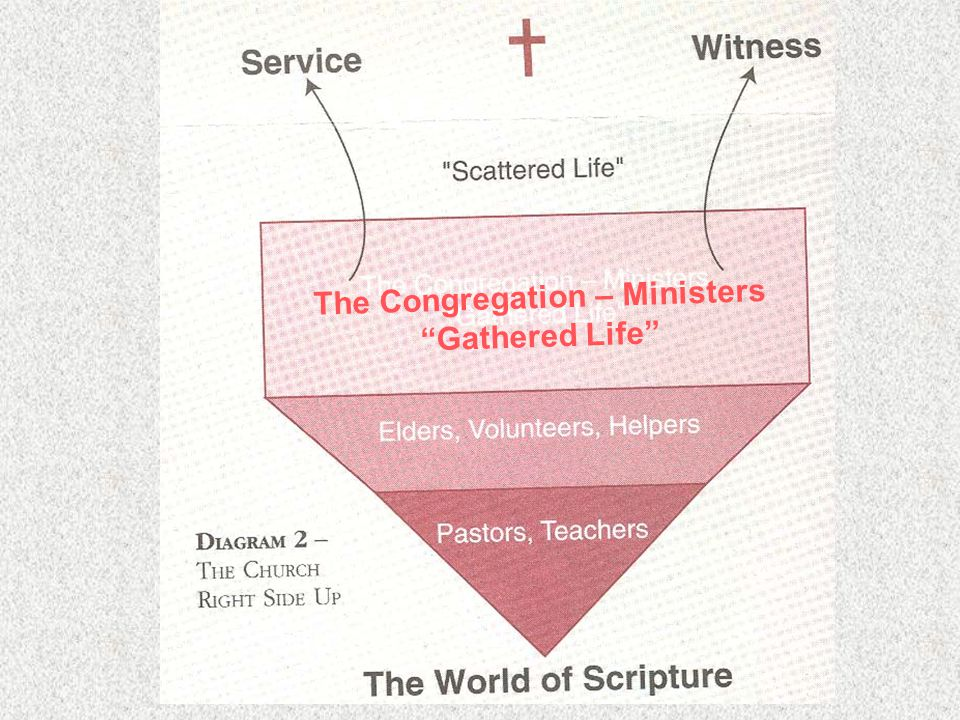 "The Congregation – Ministers ""Gathered Life"""