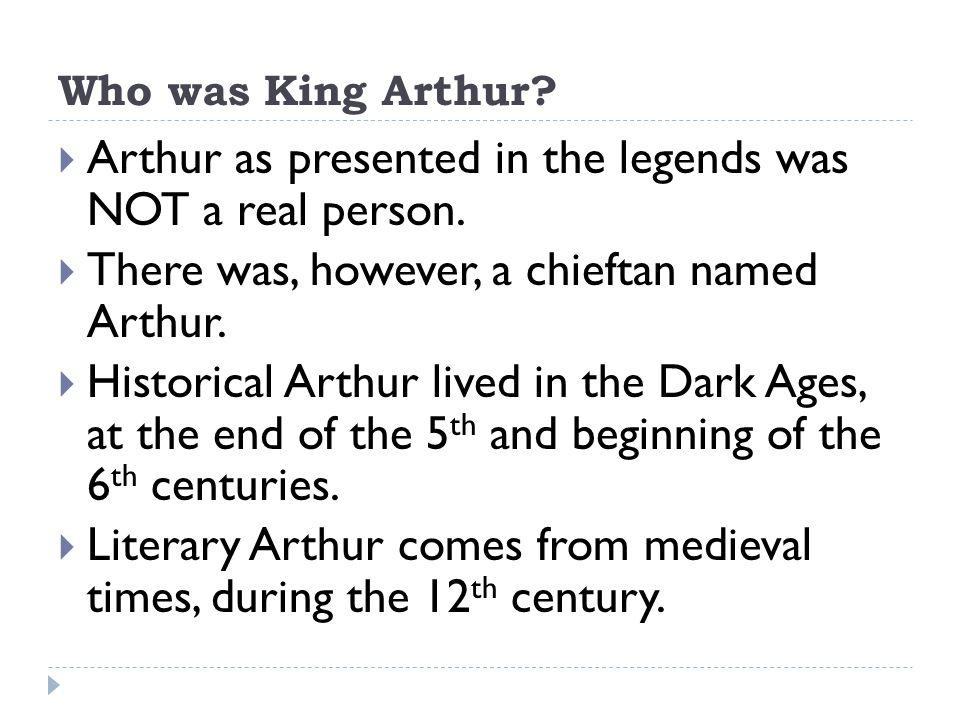 Le Morte D'Arthur  Arthur knew he was going to die.