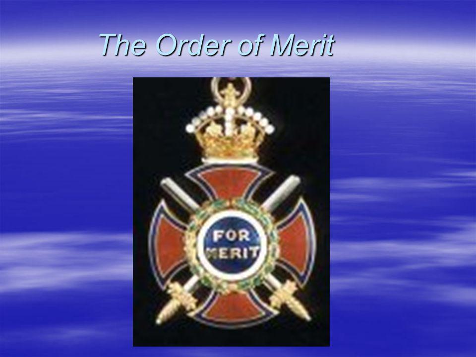 The Order of Merit