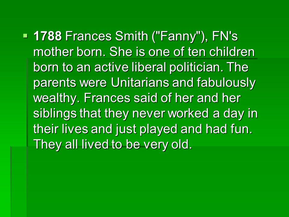  1788 Frances Smith (