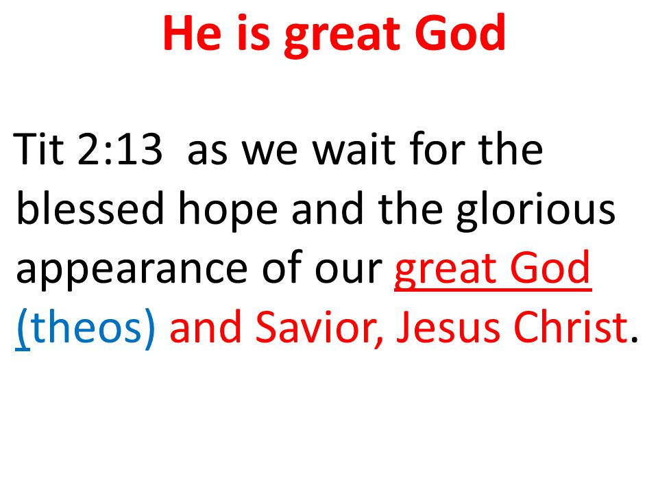 He is my God and My Lord too Joh 20:28 Thomas answered him, saying My Lord (kurios) and my God! (theos)