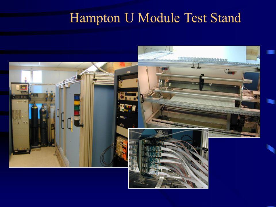 Hampton U Module Test Stand