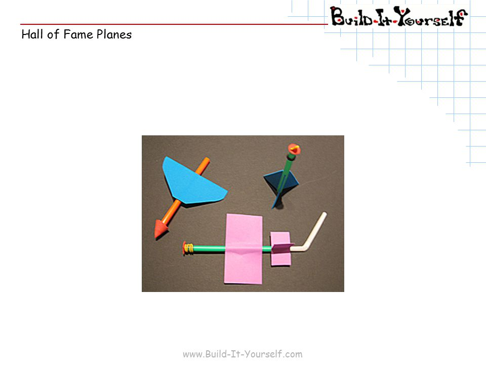 www.Build-It-Yourself.com Hall of Fame Planes