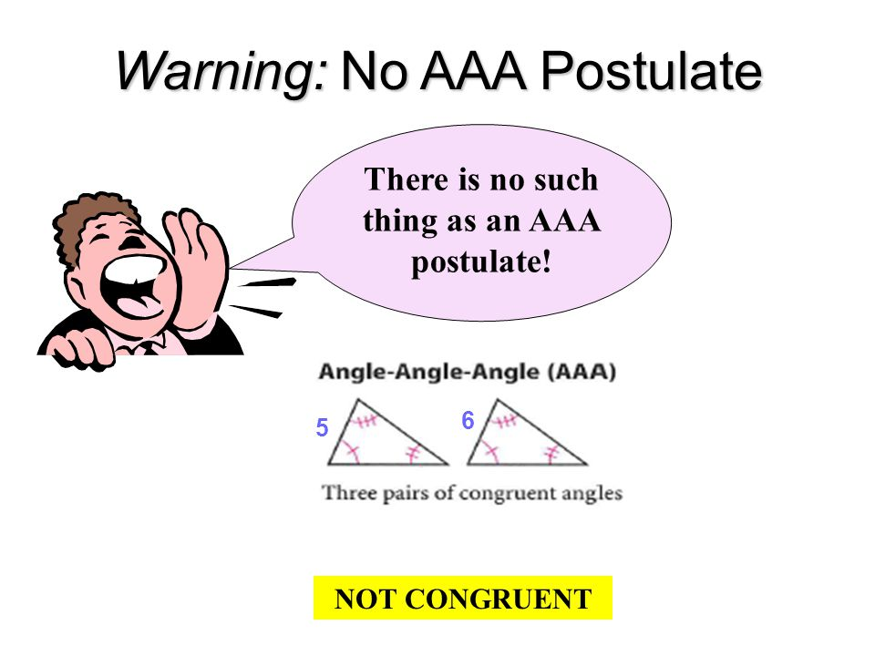 Slides 34 - 37 Included Angle : An angle that is included between two sides of a triangle.