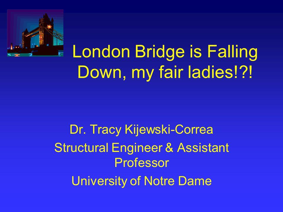 London Bridge is Falling Down, my fair ladies! . Dr.