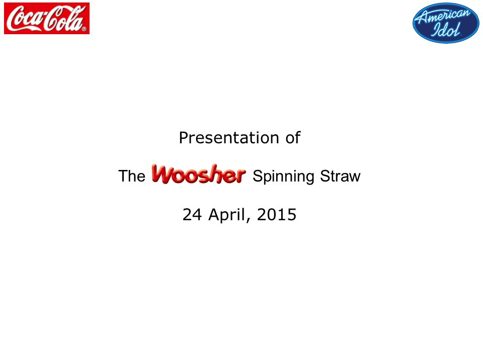 Presentation of The Spinning Straw 24 April, 2015