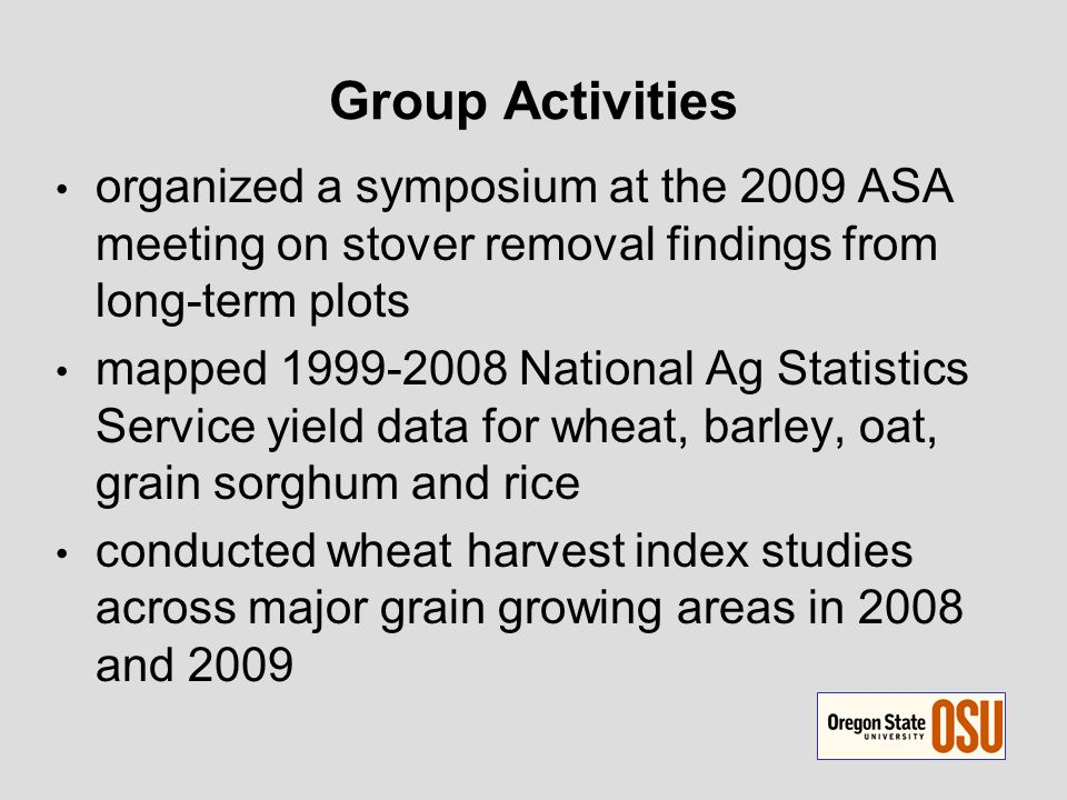 Cereal Group Field Cooperators Brent Bean – Texas A&M Bradford Brown – Univ Idaho Bill Bruening – Univ Kentucky Jeff Edwards – Oklahoma State Mike Flowers – Oregon State Dewey Lee – Univ Georgia Michael J.