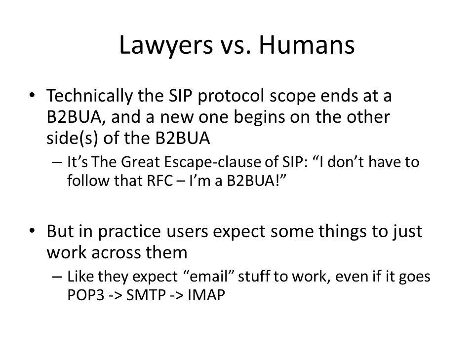 Lawyers vs.