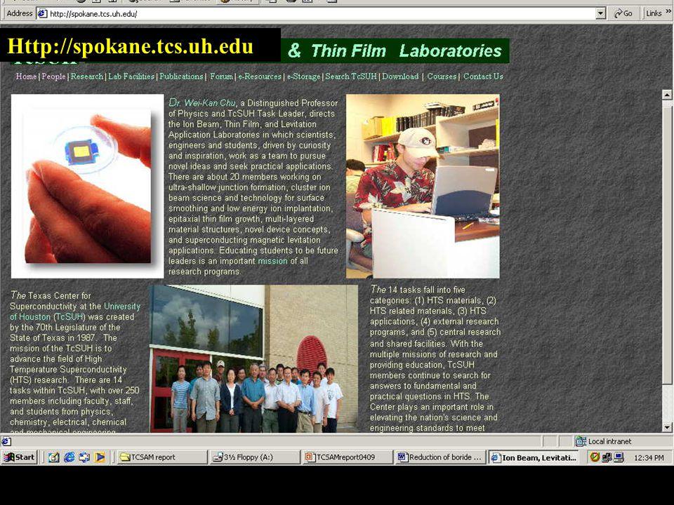 Http://spokane.tcs.uh.edu