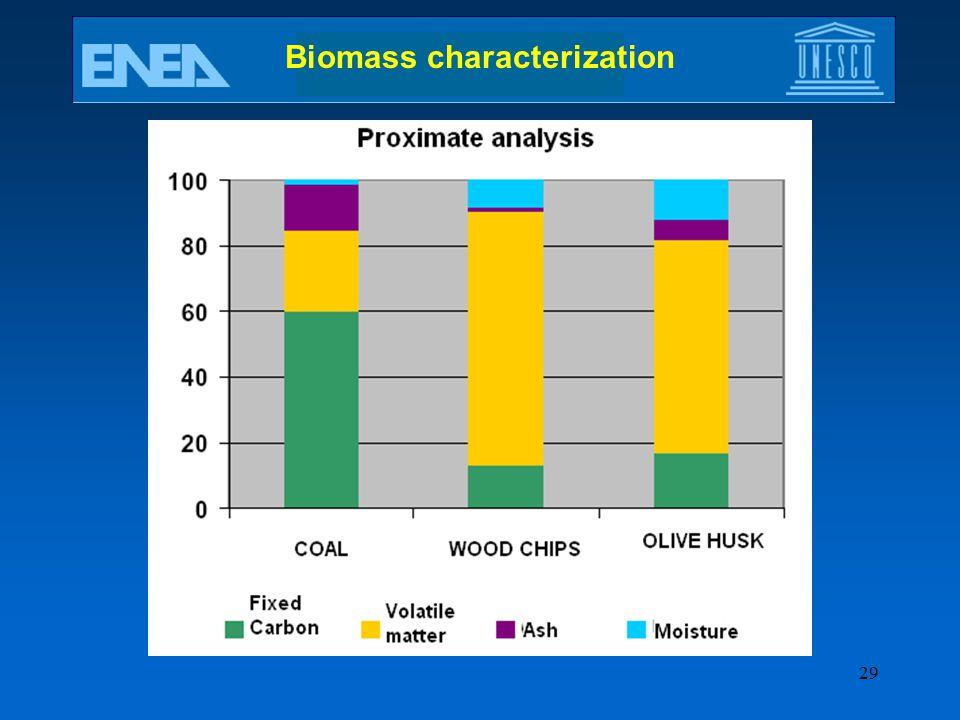 29 Biomass characterization