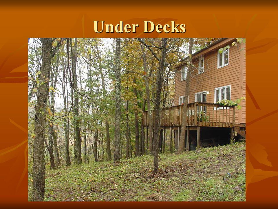 Under Decks