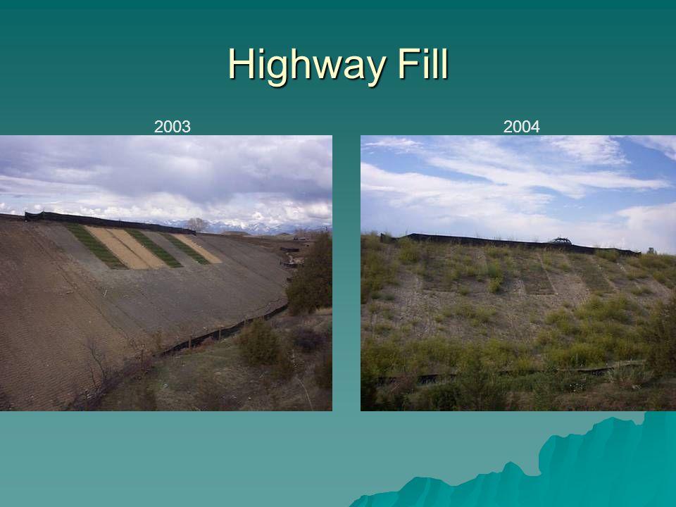 Highway Fill 2003 2004