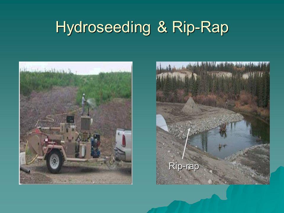 Hydroseeding & Rip-Rap Rip-rap