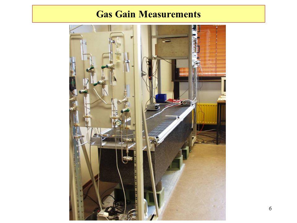 6 Gas Gain Measurements