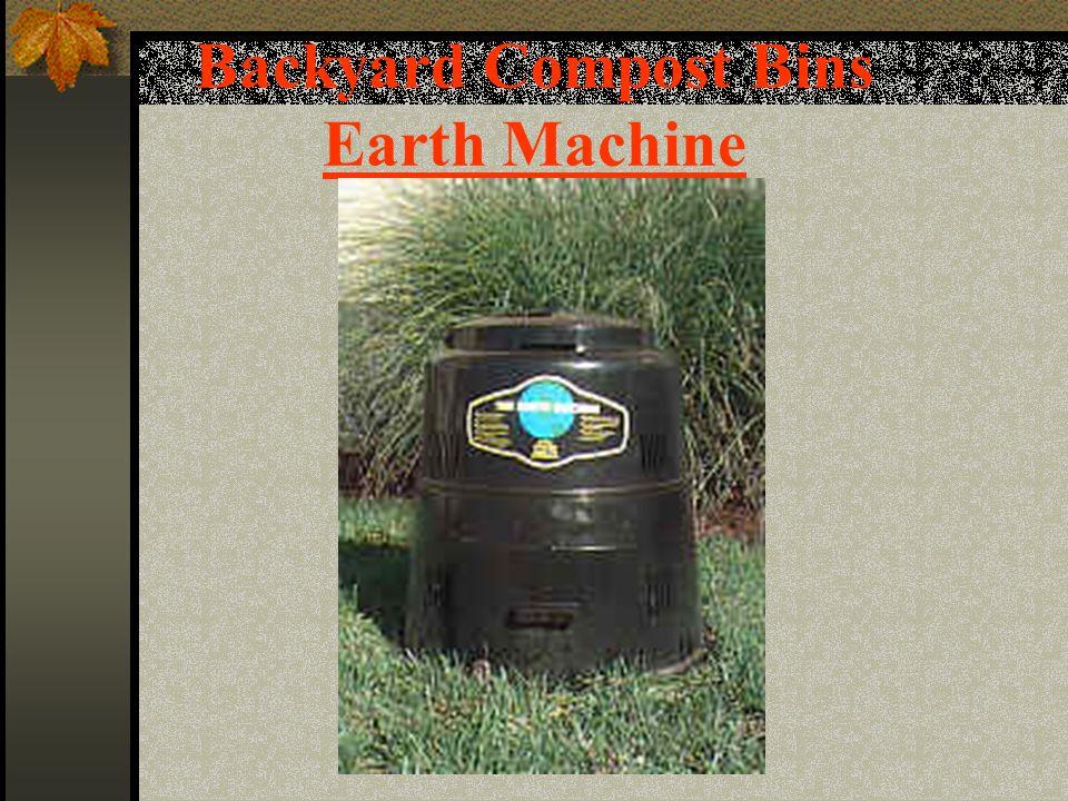 Backyard Compost Bins Earth Machine