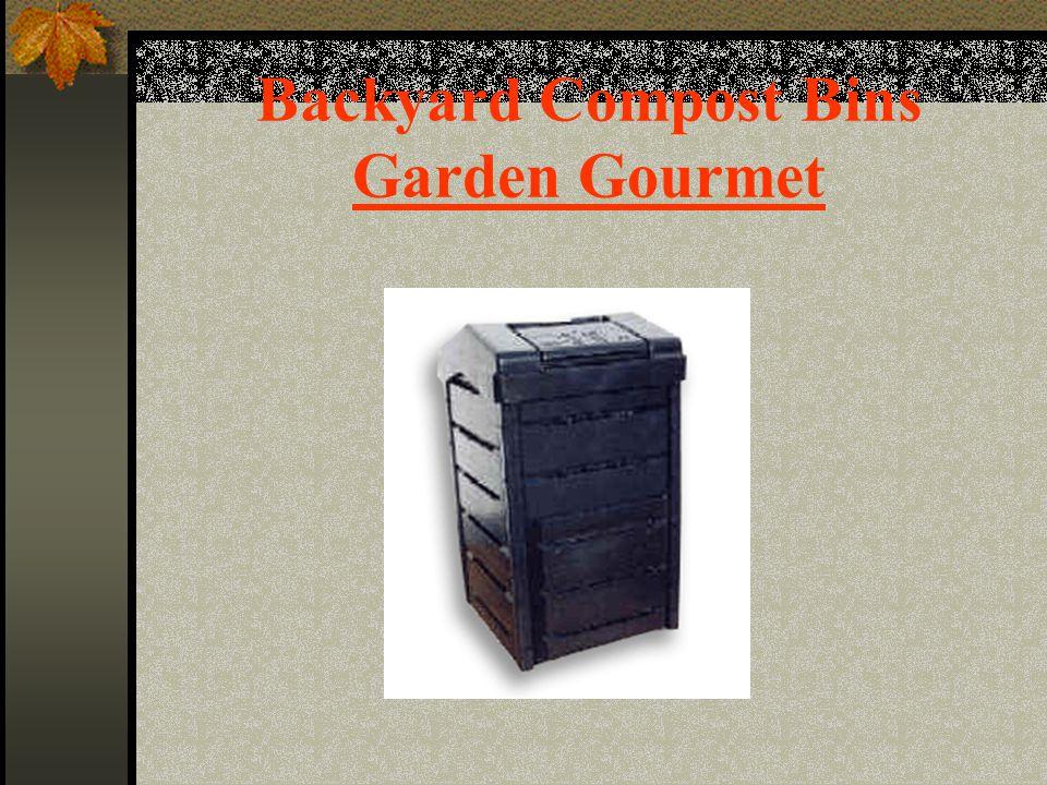 Backyard Compost Bins Garden Gourmet