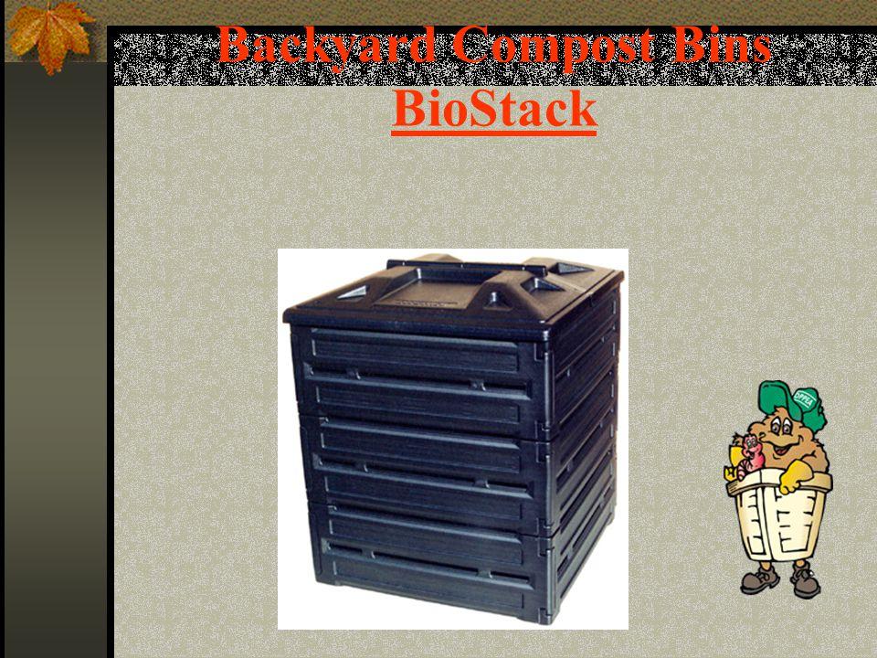 Backyard Compost Bins BioStack
