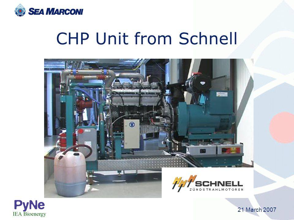 21 March 2007 CHP Unit from Schnell
