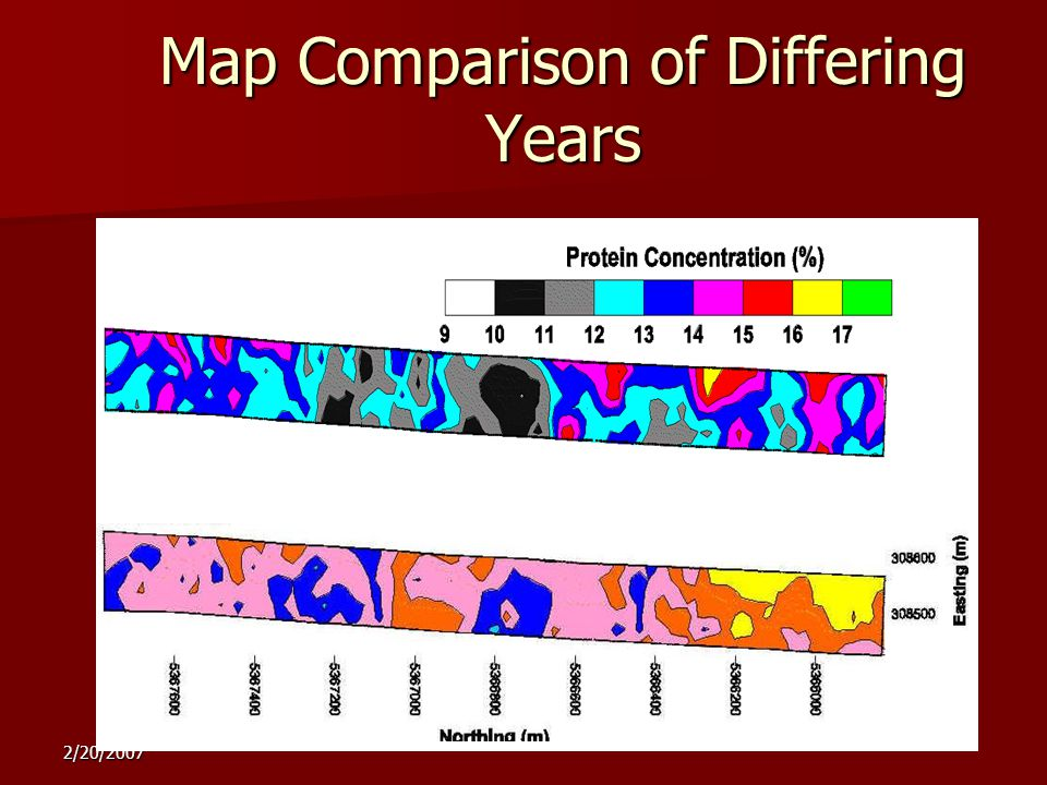 2/20/2007 1997 1999 Map Comparison of Differing Years