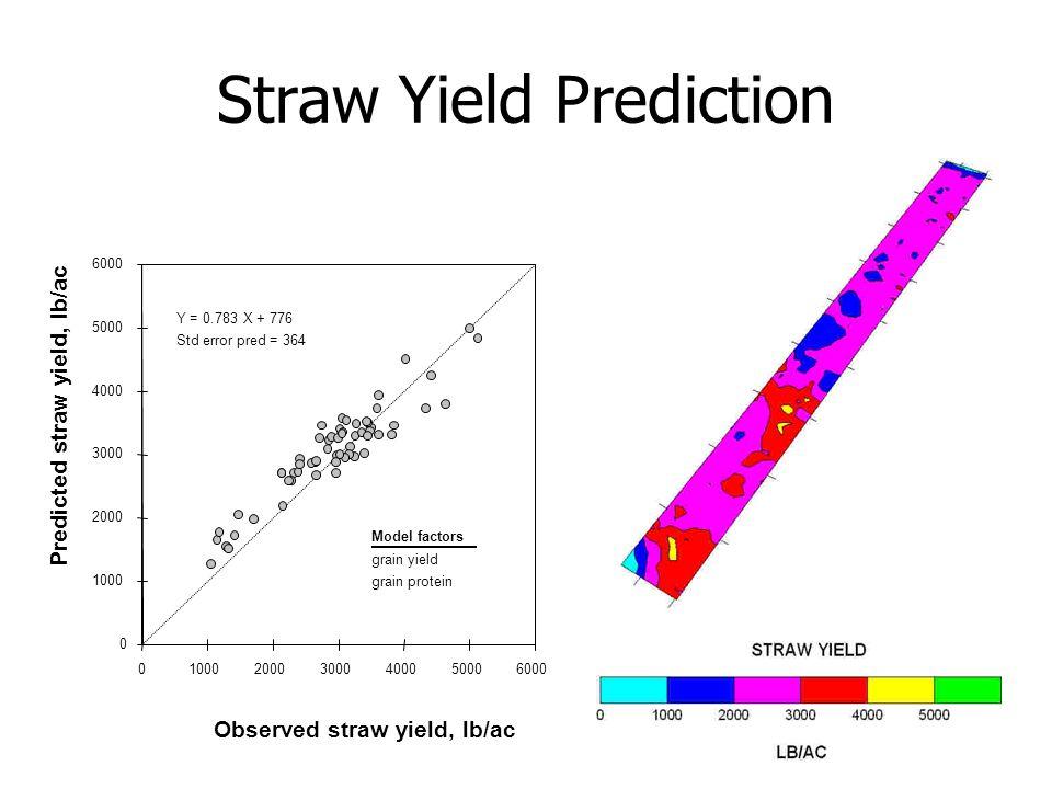2/20/2007 Straw Yield Prediction