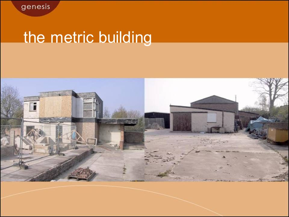 the metric building