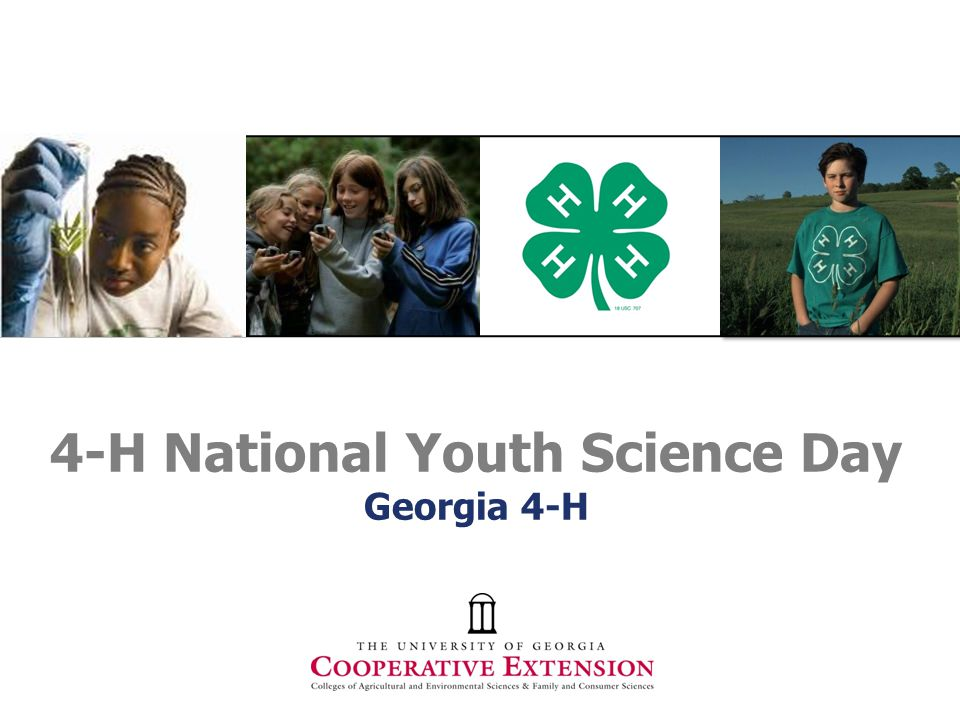 4-H National Youth Science Day Georgia 4-H