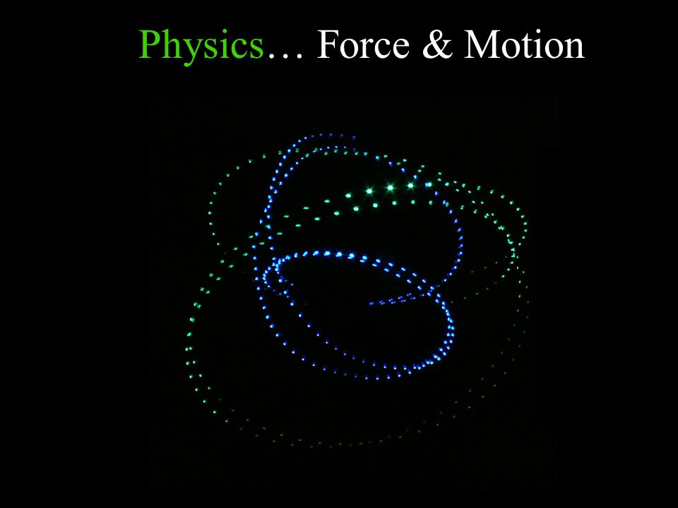 Physics… Force & Motion